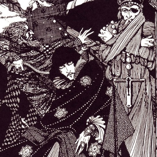 Harry Clarke Poe Tales of Mystery and Imagination Noviembre Nocturno